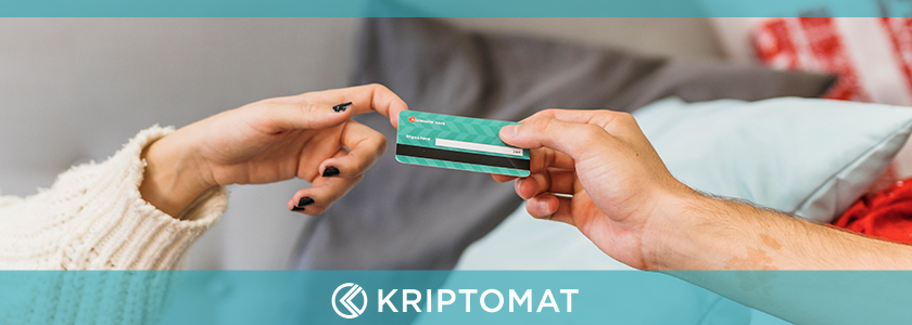 Kriptomat credit cards