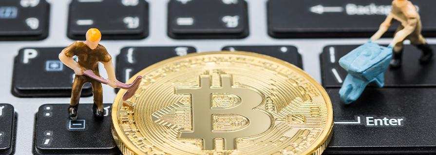 rudarjenje bitcoinov
