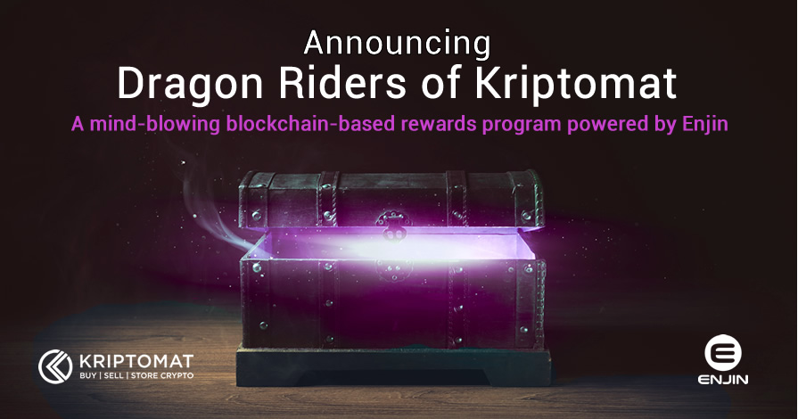 Announcing The Dragon Riders of Kriptomat Giveaway