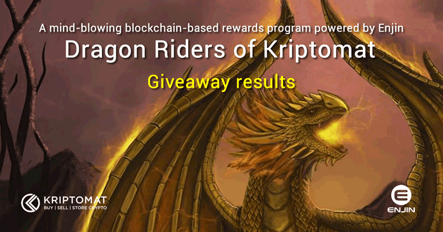 Here Are The Results of The Inaugural Dragon Riders Giveaway